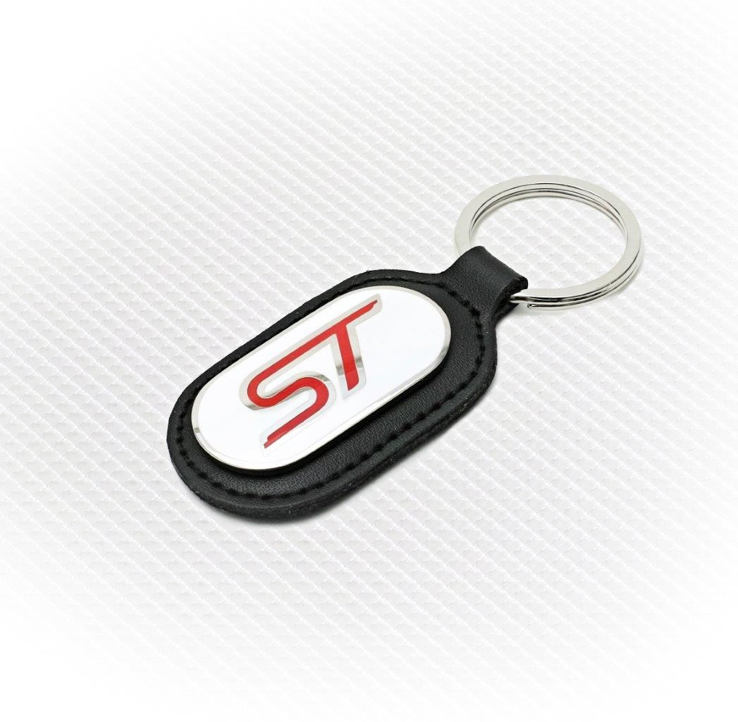 Richbrook Ford Collection Keyring White Red St Logo