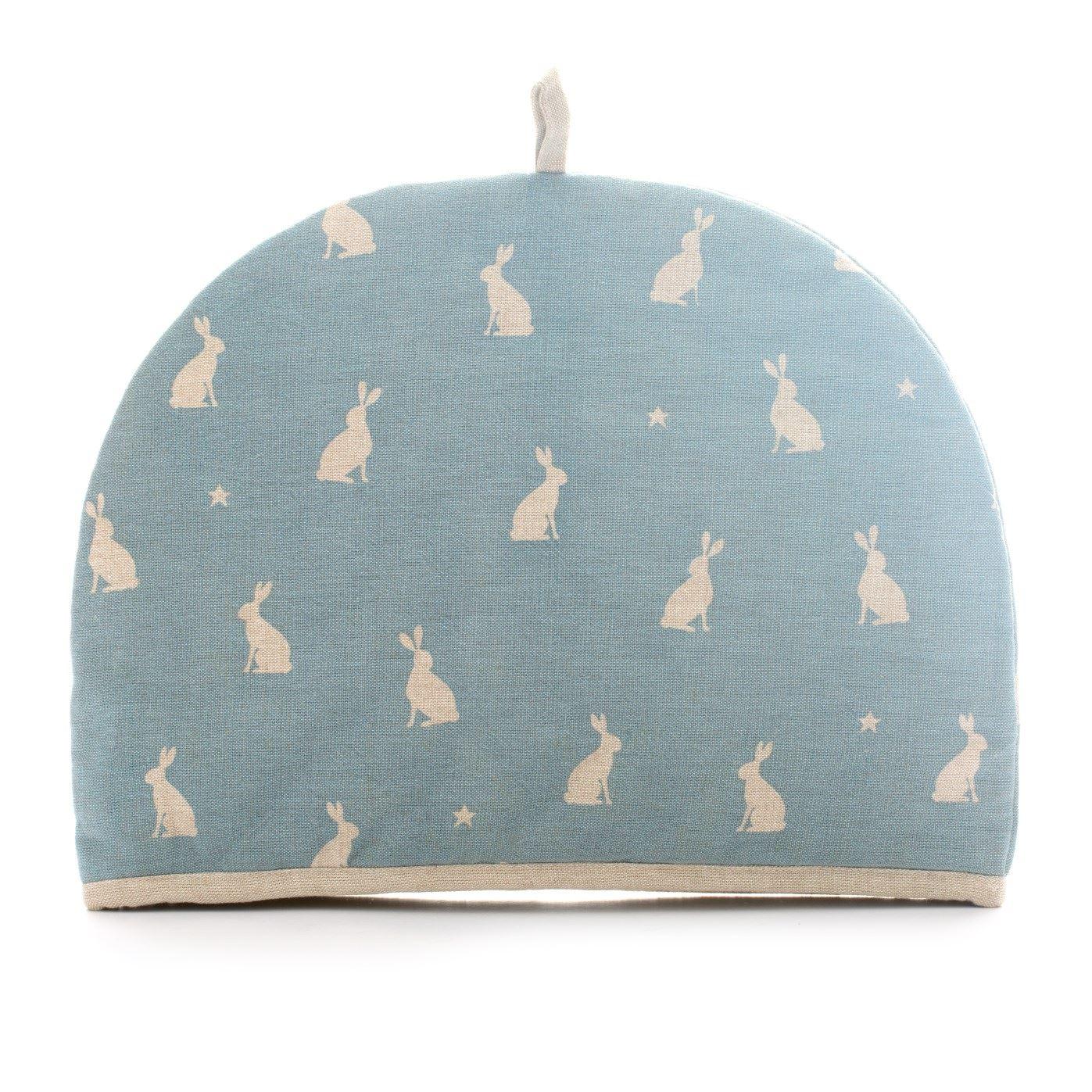 Rushbrookes Stargazing Hare Textiles Apron Oven Glove
