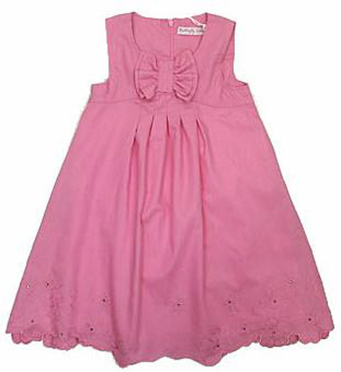 Girls Cotton Dress Special Occasion Party Wedding