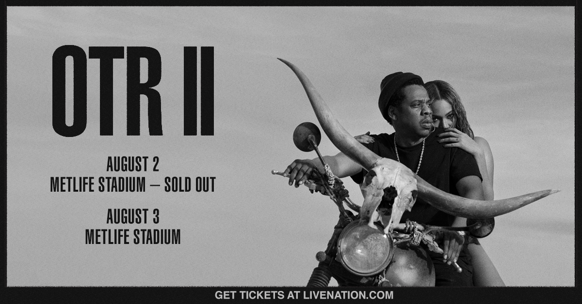 Image result for jay-z and beyoncé - otr ii metlife stadium