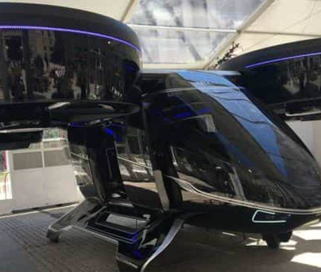 The Bell Nexus Concept Flying Car Is Shown At The Uber Elevate Summit In Washington