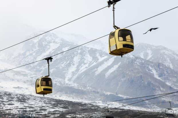 gondola skiing