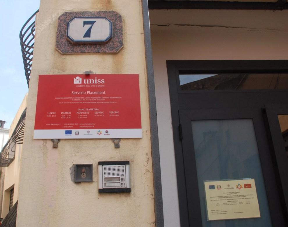 Ufficio Job Placement Bicocca : Uniss u2013 inaugurato il servizio job placement delluniversità di