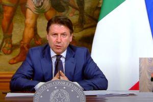 conferenza stampa Giuseppe Conte