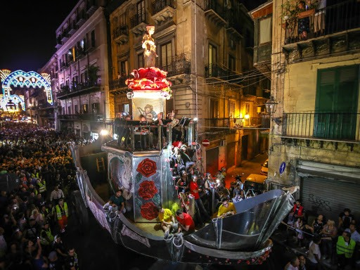 Santa Rosalia festa Palermo