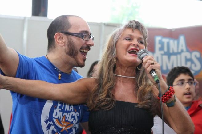 Clara Serina ad Etna Comics 2015