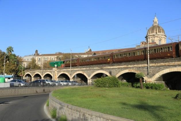 treno storico a catania
