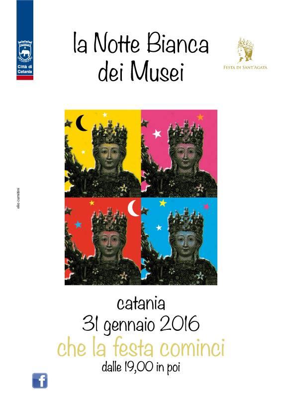 notte bianca musei Sant'Agata