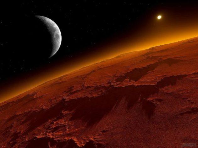 Cielo Rosso Di Notte.Occhi Al Cielo Per Marte Sara Piu Visibile E Luminoso Liveunict