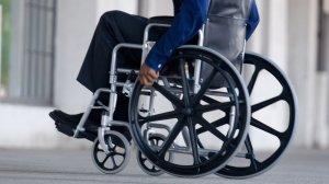 Carrozzina per disabili