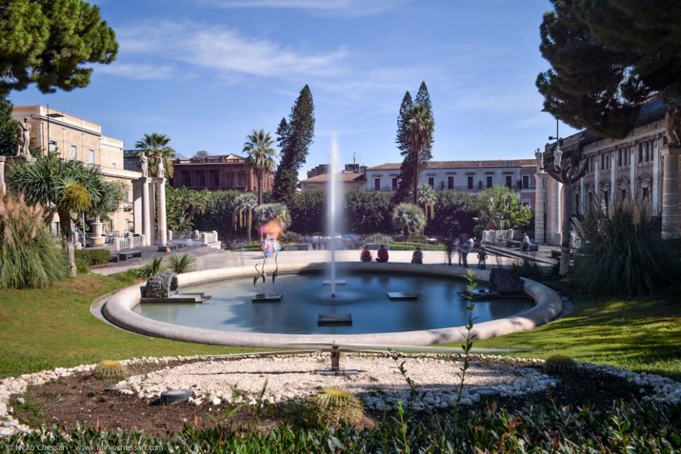 villa bellini a Catania