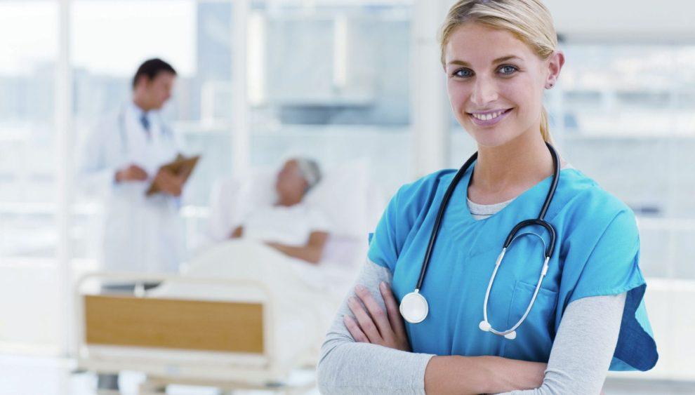infermiera in ospedale