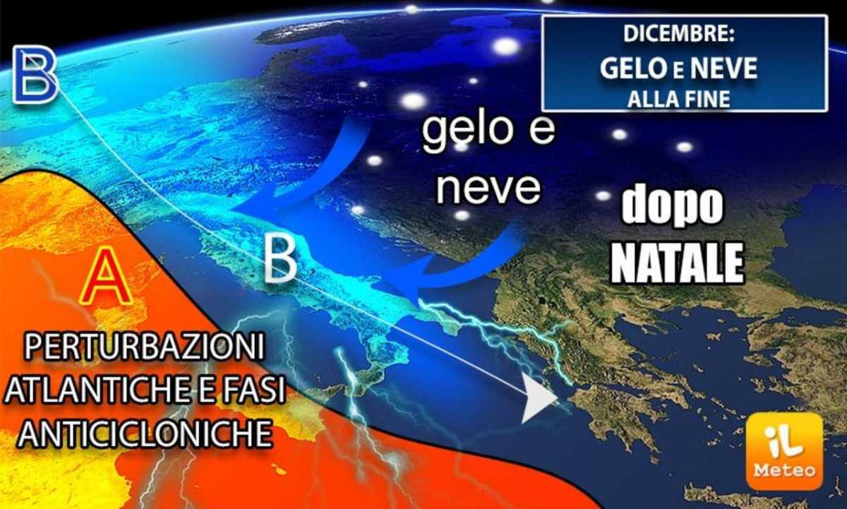Meteo Sicilia, inverno alle porte: neve in montagna e ...