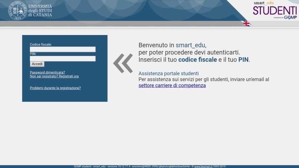 Portale Studenti Università di Catania