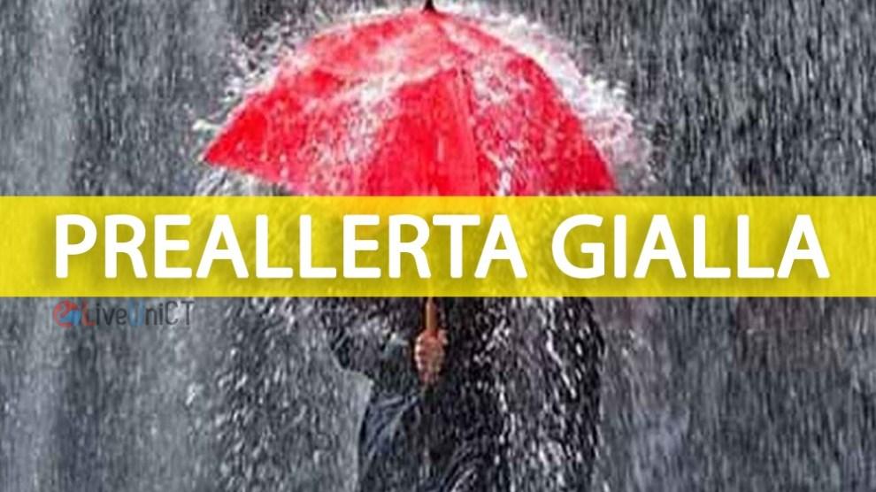 meteo catania domani allerta gialla