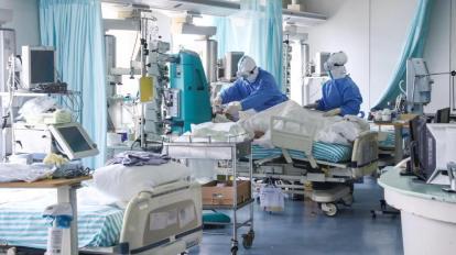 Reparto terapia intensiva coronavirus