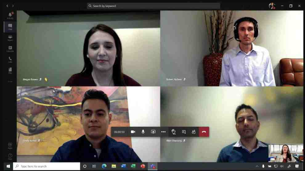 microsoft team riunione