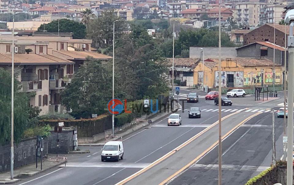 coronavirus traffico Catania