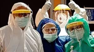 Infermieri reparto coronavirus