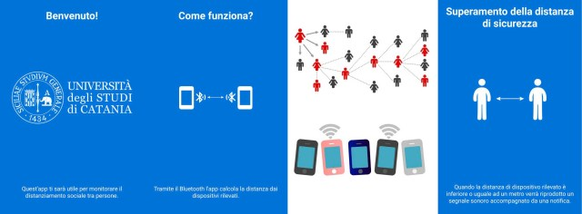 app distanziamento sociale