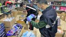 Carabinieri sequestrano mascherine contraffatte a Catania