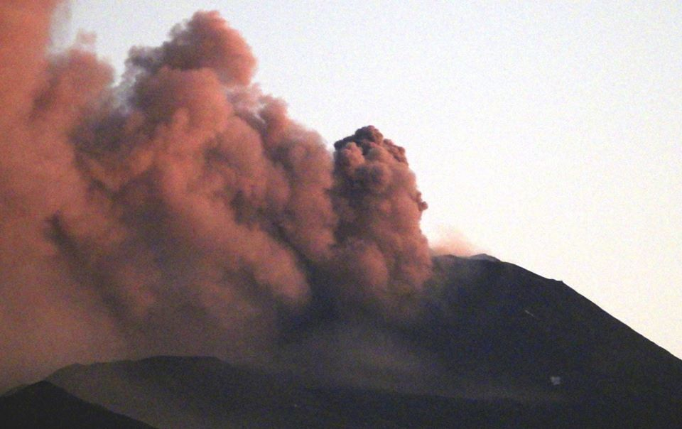 etna eruzione maggio