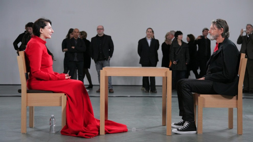 marina abramovic performance