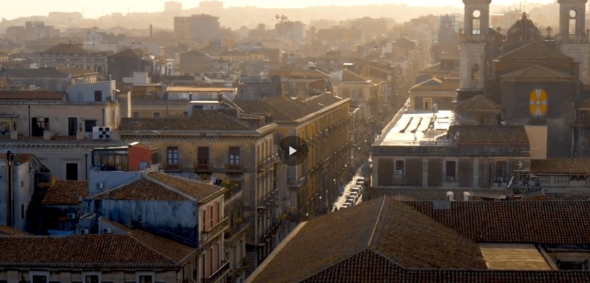 """La dedica di AirFrance a Catania: """"Un vibrante museo a cielo aperto"""" [VIDEO]"""