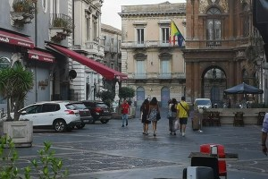 Piazza Bellini a Catania