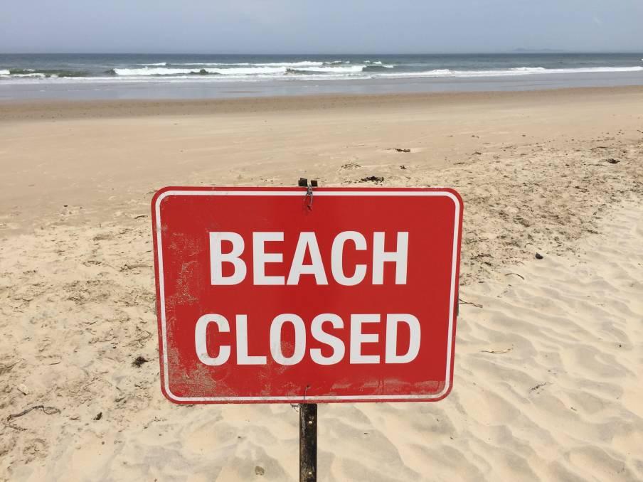 spiaggia chiusa
