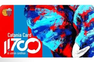 Calcio Catania Card 11700