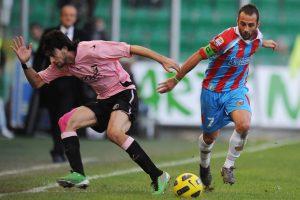 Calcio Catania Palermo derby Mascara