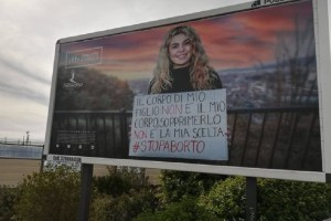 manifesti anti aborto