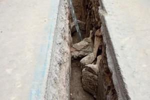 via androne scavi