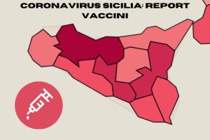 Report vaccini coronavirus in Sicilia