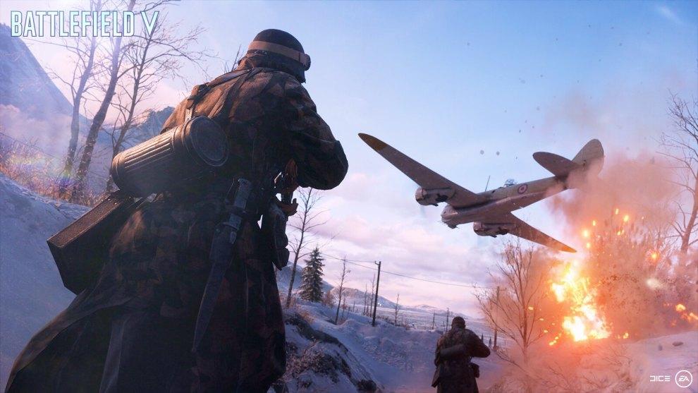Battlefield V su Playstation Plus