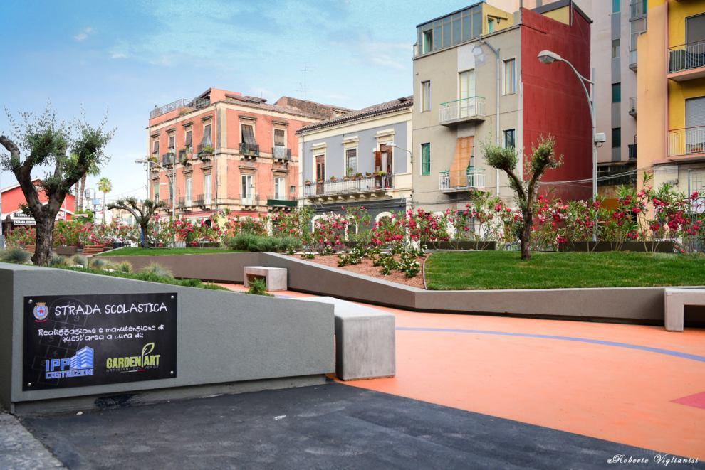 via guardo Catania