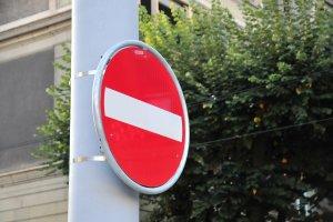 divieto d'accesso