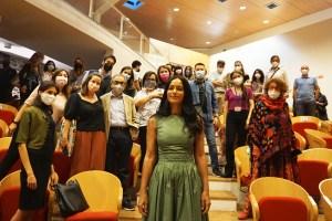 Rula Jebreal all'Università di Catania