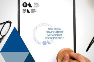 Timbro di genere dell'Ordine degli architetti