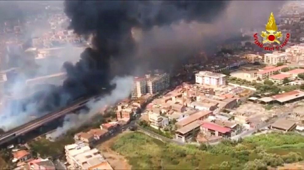incendi catania