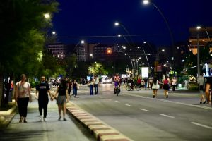 Lungomare di Catania la sera
