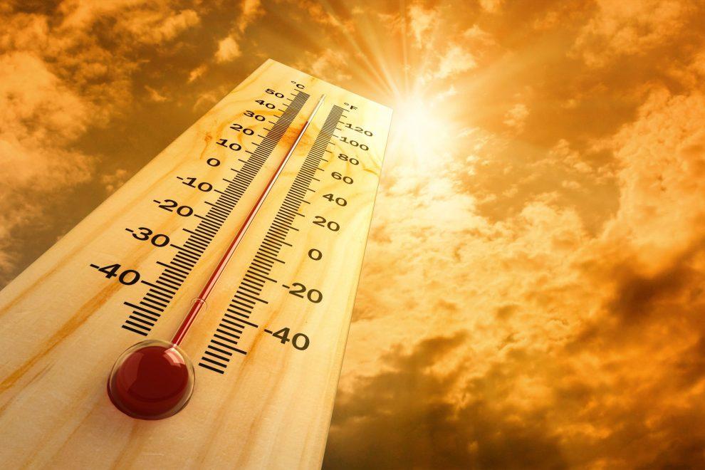 termometro caldo intenso