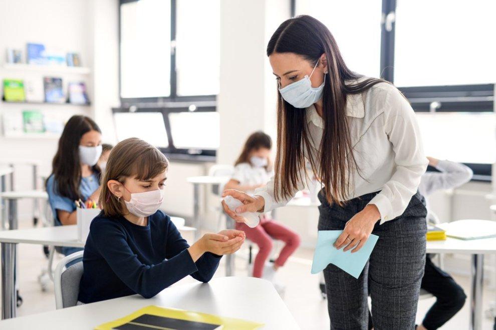 scuola mascherine