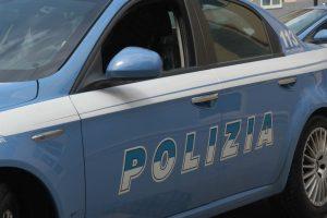 Intervento della polizia di Catania