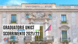 scorrimento graduatorie università catania