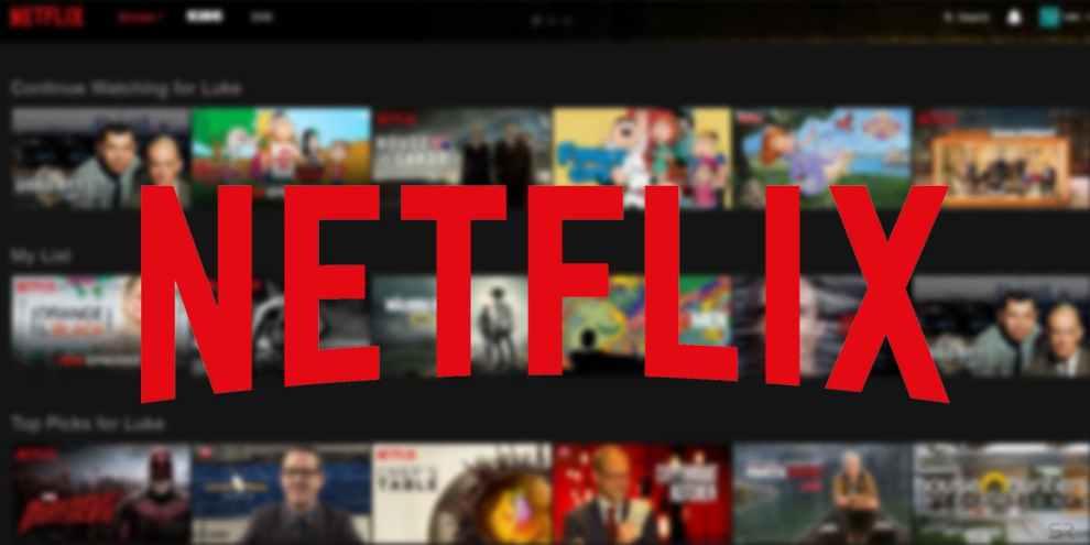 Servizio streaming Netflix