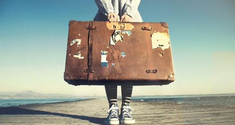 Erasmus studenti valigia