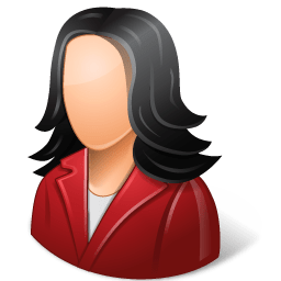 Office-Customer-Female-Light-icon