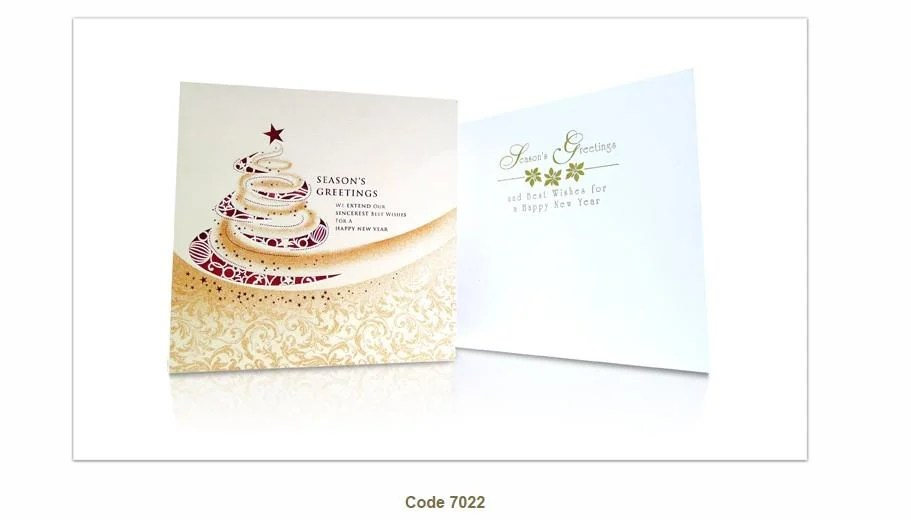 Corporate Greeting Cards For Corporate Client Singapore